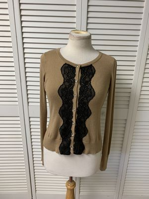 Express size small beige cardigan button-down sweater for Sale in Moon Township, PA