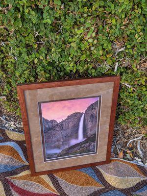 Fine art photography, framed art, Yosemite Falls for Sale in Ontario, CA