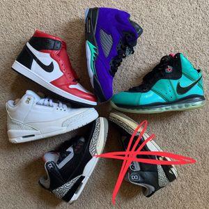 Jordan yeezys Nike Sb supreme foamposite lebron Ps5 Xbox for Sale in Woodbridge, VA