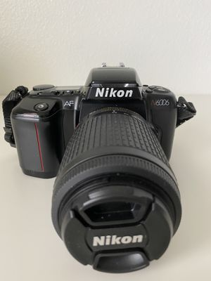 Nikon N6006 with Nikon 55-200mm lens for Sale in Murrieta, CA