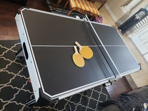 ESPN electric Air hockey/ping pong table. for Sale in Lake Forest, CA