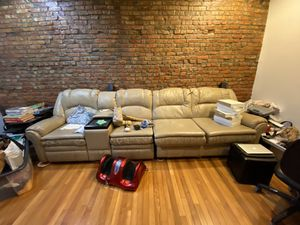 Leather Sectional Couch for Sale in New York, NY
