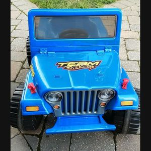 Hot Wheels Jeep for Sale in Edison, NJ