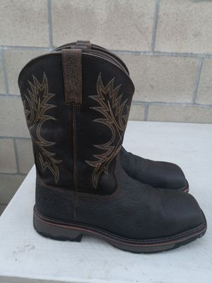 Ariat composite toe work boots size 11.5 D for Sale in Riverside, CA