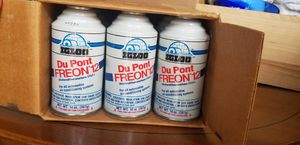 Freon-12. 12 -14 oz Cans for Sale in Pflugerville, TX
