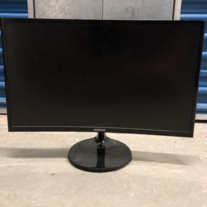 "Samsung Curved LED Monitor ""24inch"" for Sale in Medford, MA"