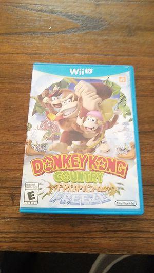 Donkey Kong tropical freeze (Nintendo Wii U) for Sale in Palmdale, CA