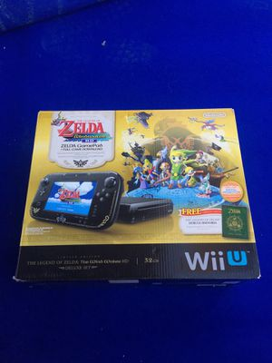 Nintendo WII U Zelda edition for Sale in Las Vegas, NV