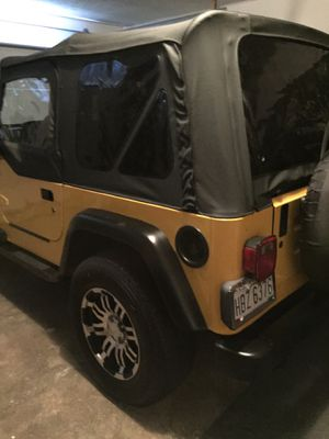 2002 Jeep Wrangler Sport for Sale in North Ridgeville, OH