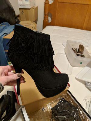 Fringe heels for Sale in Greenville, SC