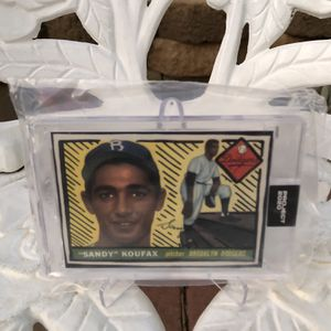 Topps PROJECT 2020: Sandy Koufax for Sale in Rialto, CA