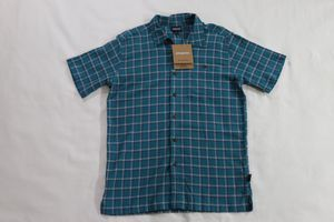 NWT PATAGONIA Men's A/C Casual Dress Button-Up Shirt SZ Small Teal Blue Purple for Sale in Houston, TX