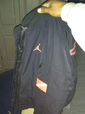 Air Jordan jacket. Red and black. for Sale in Lewisville, TX