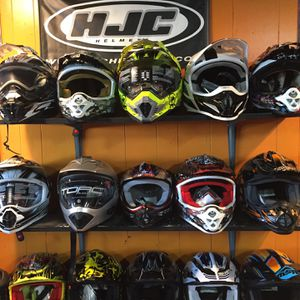 New Off Road Dirt Bike Motorcycle Helmet S $85 And Up for Sale in Whittier, CA
