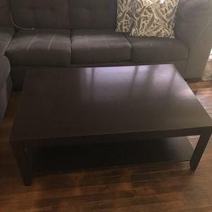 Oversized Coffee Table And 2 Matching End Tables for Sale in Washington, DC