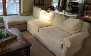 Sofa and chaise for Sale in Eagle River, WI