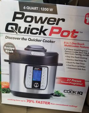 Power 6-Qt. Quick Pot Multi-Cooker for Sale in Fort Worth, TX