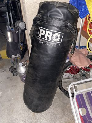 Boxing punching bag for Sale in Covina, CA