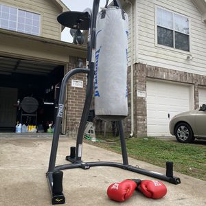 Punching Bag Speed Bag And Gloves for Sale in Houston, TX