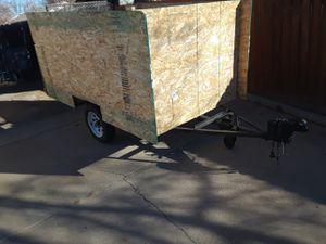 4x6 steel ramp trailer for Sale in Pueblo, CO