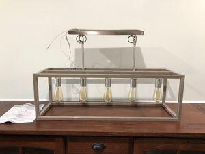 """34"""" rectangular 5 light linear chandelier for Sale in Sebastian, FL"""
