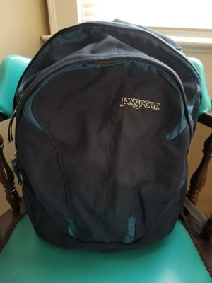Navy and Colbalt Blue Jansport Backpack with Squishy Airlift Straps for Sale in Greenville, SC