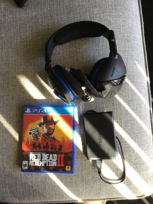 Red dead redemption two turtle beach wireless headset and a 1 TB for Sale in Phoenix, AZ