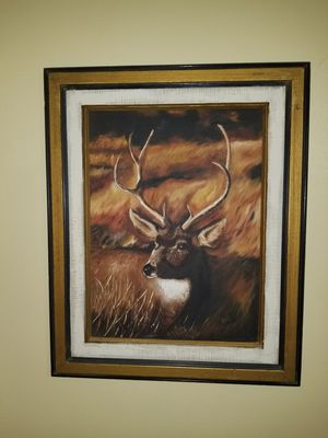 Art , real wood frame 31x 26 for Sale in Artesia, CA