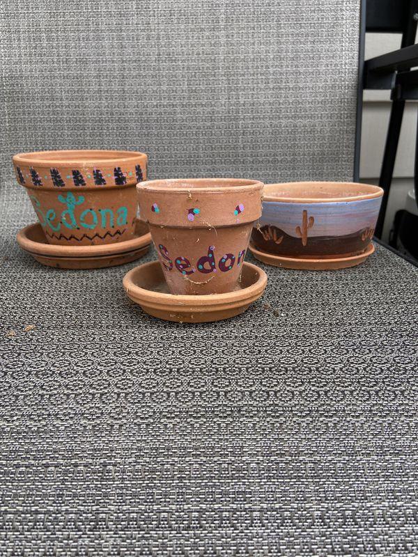 Sedona Cactus Pots 3/$5