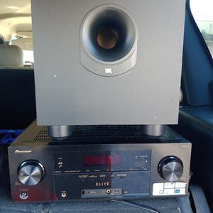 Receiver Pioneer Elite Subbofer Jvl for Sale in Hayward, CA
