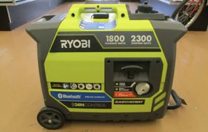 NEW RYOBI RYi2300BTA Bluetooth 2300 Watt Digital Inverter Portable Generator for Sale in St. Petersburg, FL
