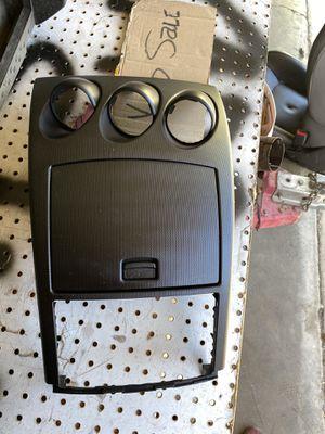 Nissan 350z center console with cubby door! Storage door! Great condition for Sale in Riverside, CA
