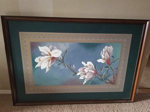 64x44inches painting with frame for Sale in Pasco, WA