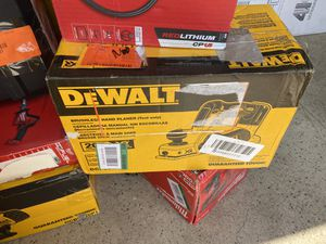 New Dewalt 20 volt hand planer $185 for Sale in Boston, MA