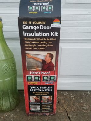 Brand new garage door insulation panels 2 available for Sale in O'Fallon, MO