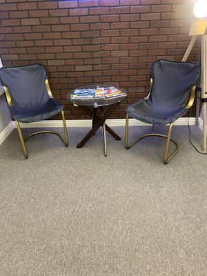 2 leather office chairs for Sale in El Cajon, CA