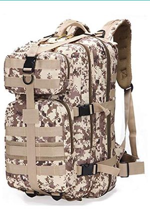 Tactical Backpack, Outdoor Camping Backpacking Sports Hikers Bag for Traveling Hiking Camping for Sale in Rancho Cucamonga, CA