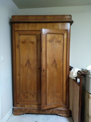"""Antique French Armoire 54"""" x 34"""" x 74"""" for Sale in Houston, TX"""