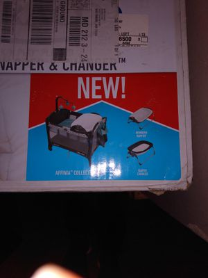 Graco portable napper an changer for Sale in Baltimore, MD