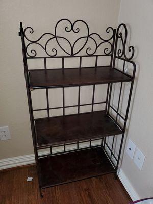 Metal folding shelves for Sale in Rosenberg, TX