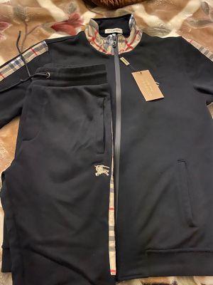 Men's Burberry London Track Pant & Jacket Set for Sale in Fremont, CA