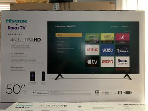 BRAND NEW 50 INCH HISENSE ROKU 4K SMART TV for Sale in Anaheim, CA