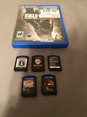 PS Vita Games for Sale in Dallas, TX