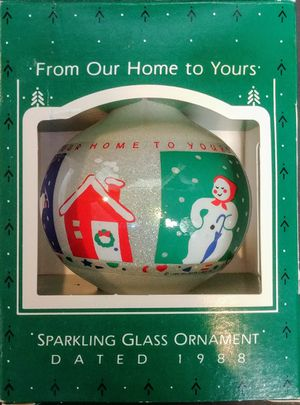 """Hallmark Keepsake- 1988 """"From Our Home to Yours"""" Ornament for Sale in Arlington, WA"""