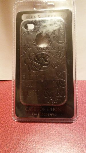 New! Rock & Republic hardcase for iPhone 4/4s for Sale in East Gull Lake, MN