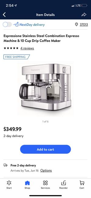 Espression coffee maker for Sale in Nashville, TN