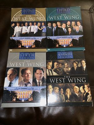 The West Wing Complete Seasons 2 & 3 , 6 & 7 for Sale in West Valley City, UT