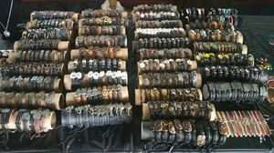 Variety of styles leather bracelets for Sale in Lynchburg, VA