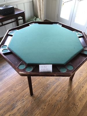 Antique Poker Table for Sale in Los Angeles, CA