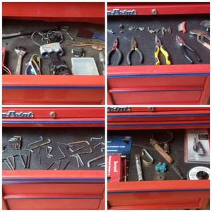 11 Drawer Blue point Snapon Rolling toolbox for Sale in Helotes, TX